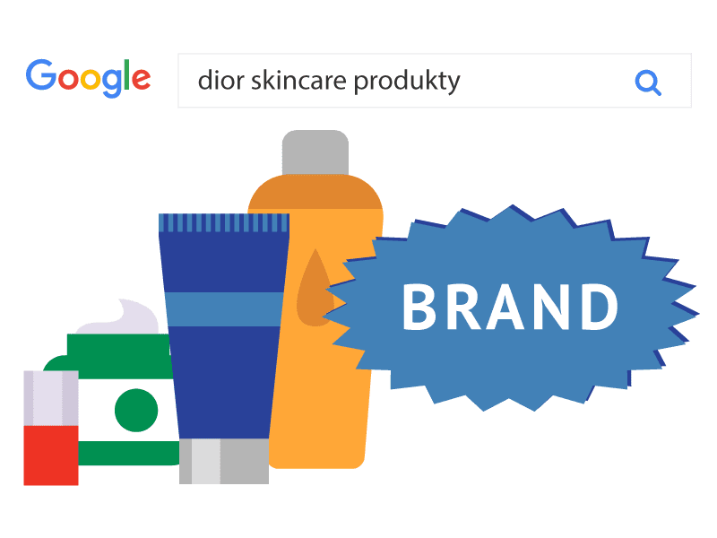 Brand Category product campaign in Google Search