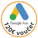 BlueWinston 120€ voucher pre Google Ads