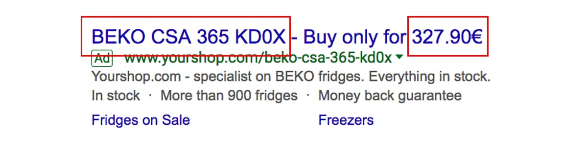 text-ad-for-beko-specific-fridge